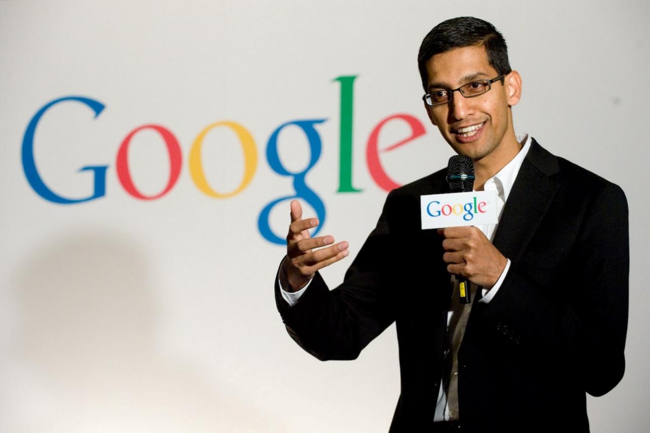 Sundar Pichai - Google CEO