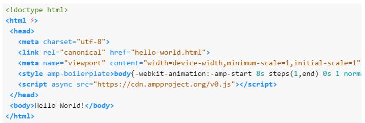 AMP-HTML-Code