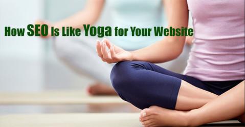yoga and SEO