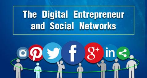 The Digital Entrepreneur and Social Networks